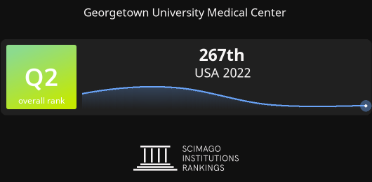 Georgetown Medical Center >> Georgetown University Medical Center Report
