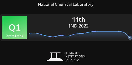 National Chemical Laboratory report