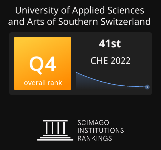 University Of Applied Sciences And Arts Of Southern Switzerland Ranking